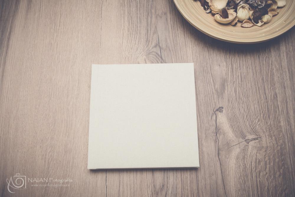 Álbum lino beige 20x20_Sin